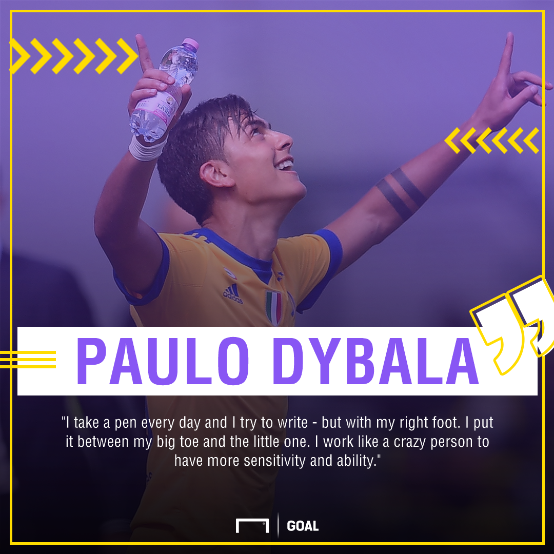 Paulo Dybala right foot PS