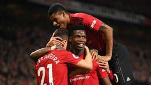 Paul Pogba Marcus Rashford Manchester United vs Bournemouth Premier League 2018-19
