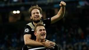 Matthijs de Ligt, Daley Blind, Real Madrid - Ajax, 03052019