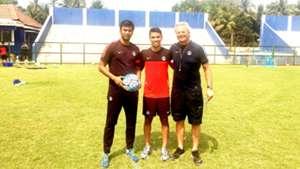 Abhishek Yadav Namit Deshpande Luis Norton de Matos India U17