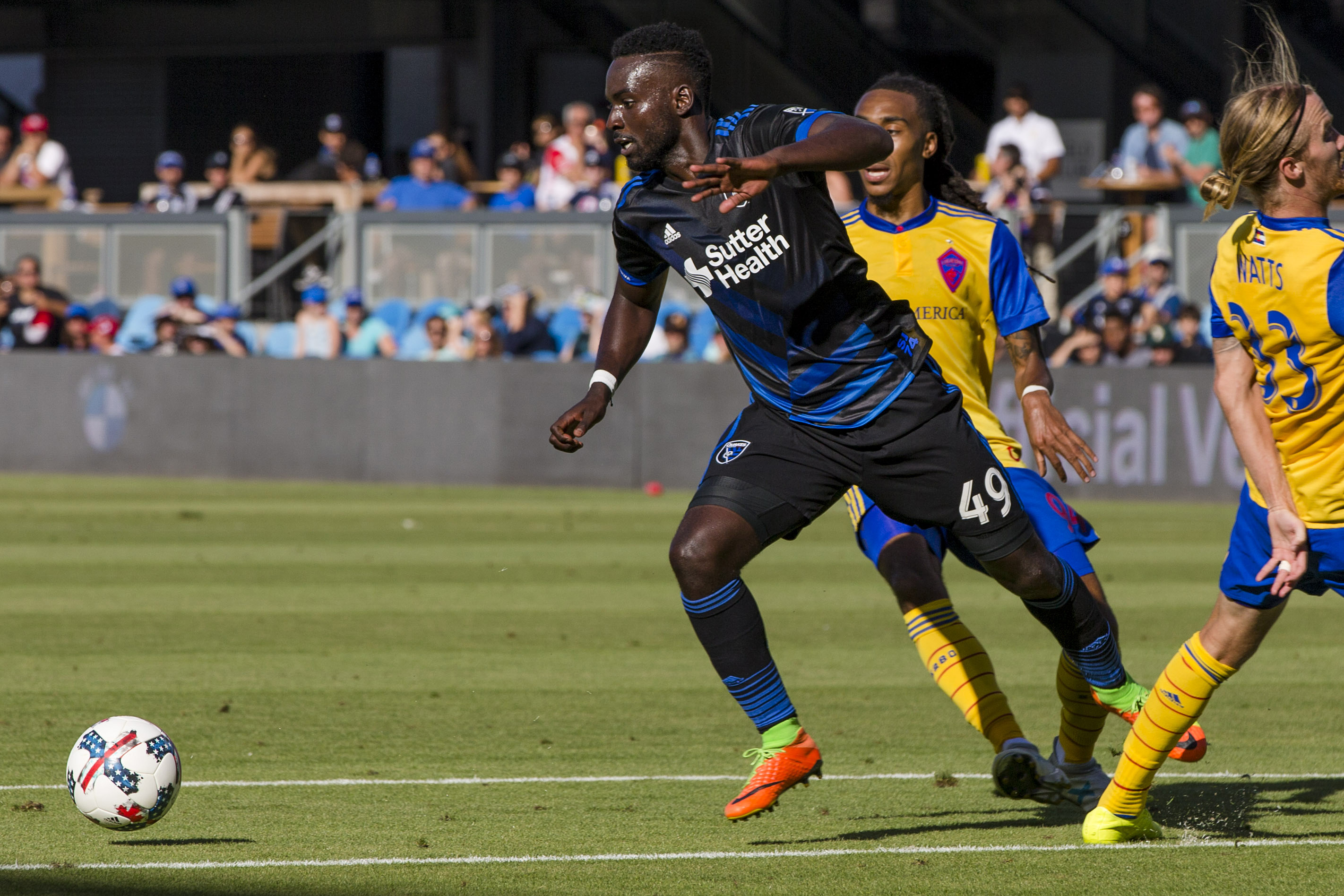 Simon Dawkins, San Jose Earthquakes