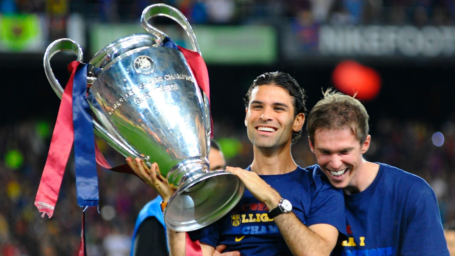 Rafael Marquez Barcelona Champions League