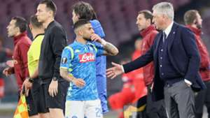Lorenzo Insigne Napoli Arsenal Europa League