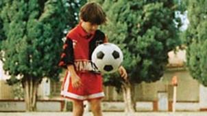 Lionel Messi juventud
