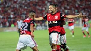 Everton Diego Flamengo Santos Copa do Brasil 28062017
