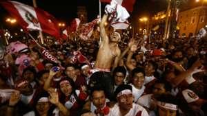 Peru fans