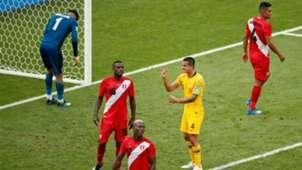 Tim Cahill Socceroos Peru