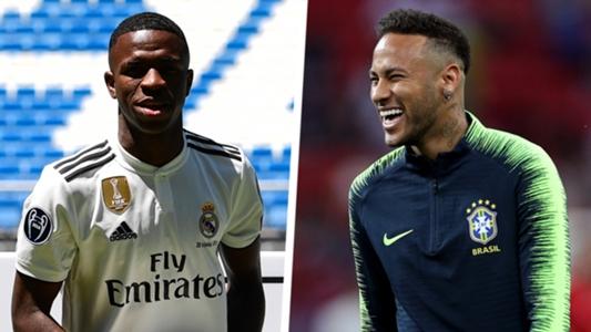 Image result for Vinicius Jr and Neymar