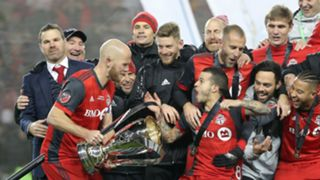 Toronto FC MLS Cup celebrations