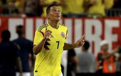 Carlos Bacca Colombia gol 2018