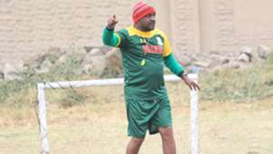 Francis Kimanzi of Mathare United coach.