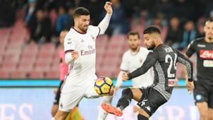Musacchio Insigne Napoli Milan Serie A