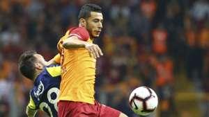 Galatasaray Fenerbahce Younes Belhanda Valbuena 110218