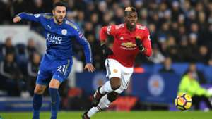 Paul Pogba Vicente Iborra Manchester United Leicester City