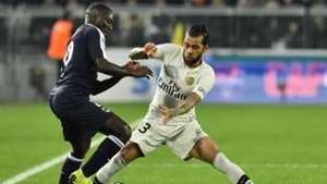 Youssouf Sabaly Dani Alves PSG Bordeaux Ligue 1 02122018