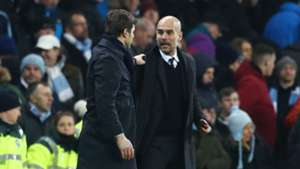 Pep Guardiola Mauricio Pochettino Tottenham Manchester City Premier League