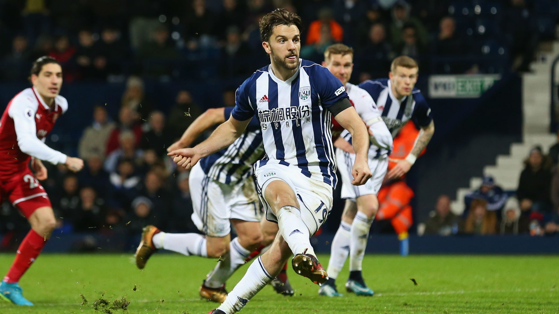Jay Rodriguez West Brom Arsenal