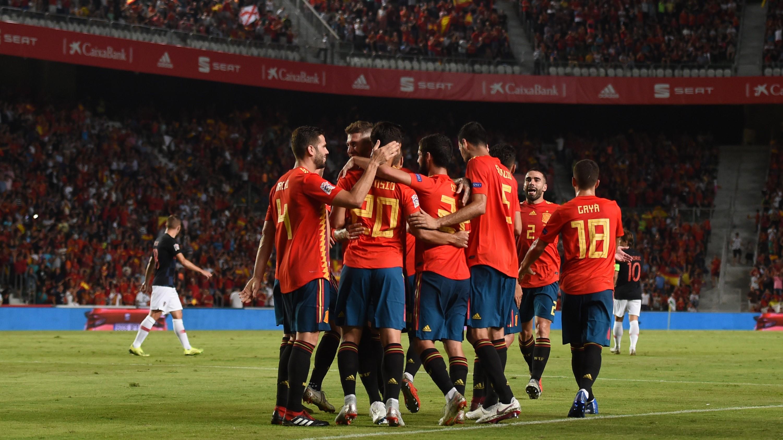 España Croacia Spain Croatia UEFA Nations League 11092018