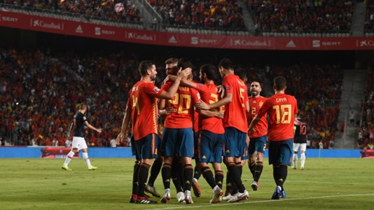España Croacia Spain Croatia UEFA Nations League 11092018