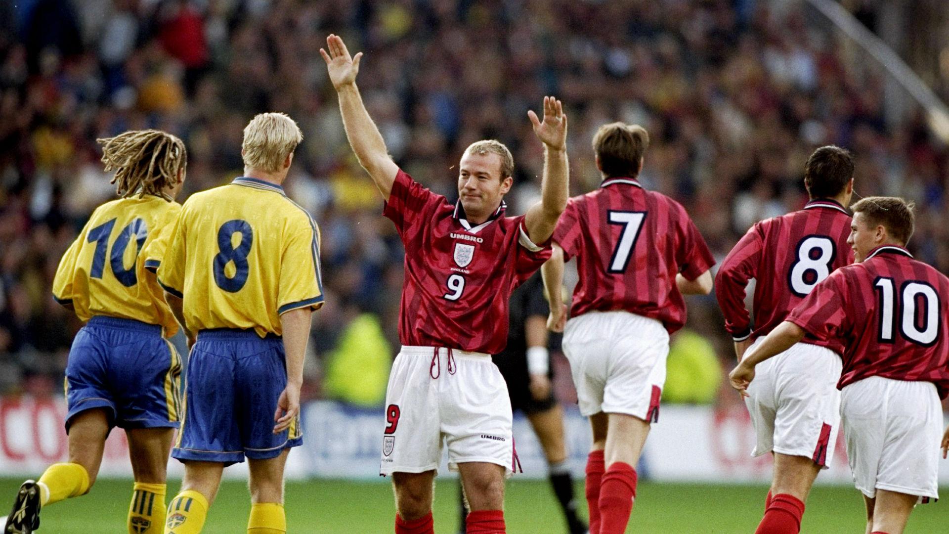 Alan Shearer England Sweden 05091998