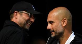 Jurgen Klopp Pep Guardiola Manchester City Liverpool