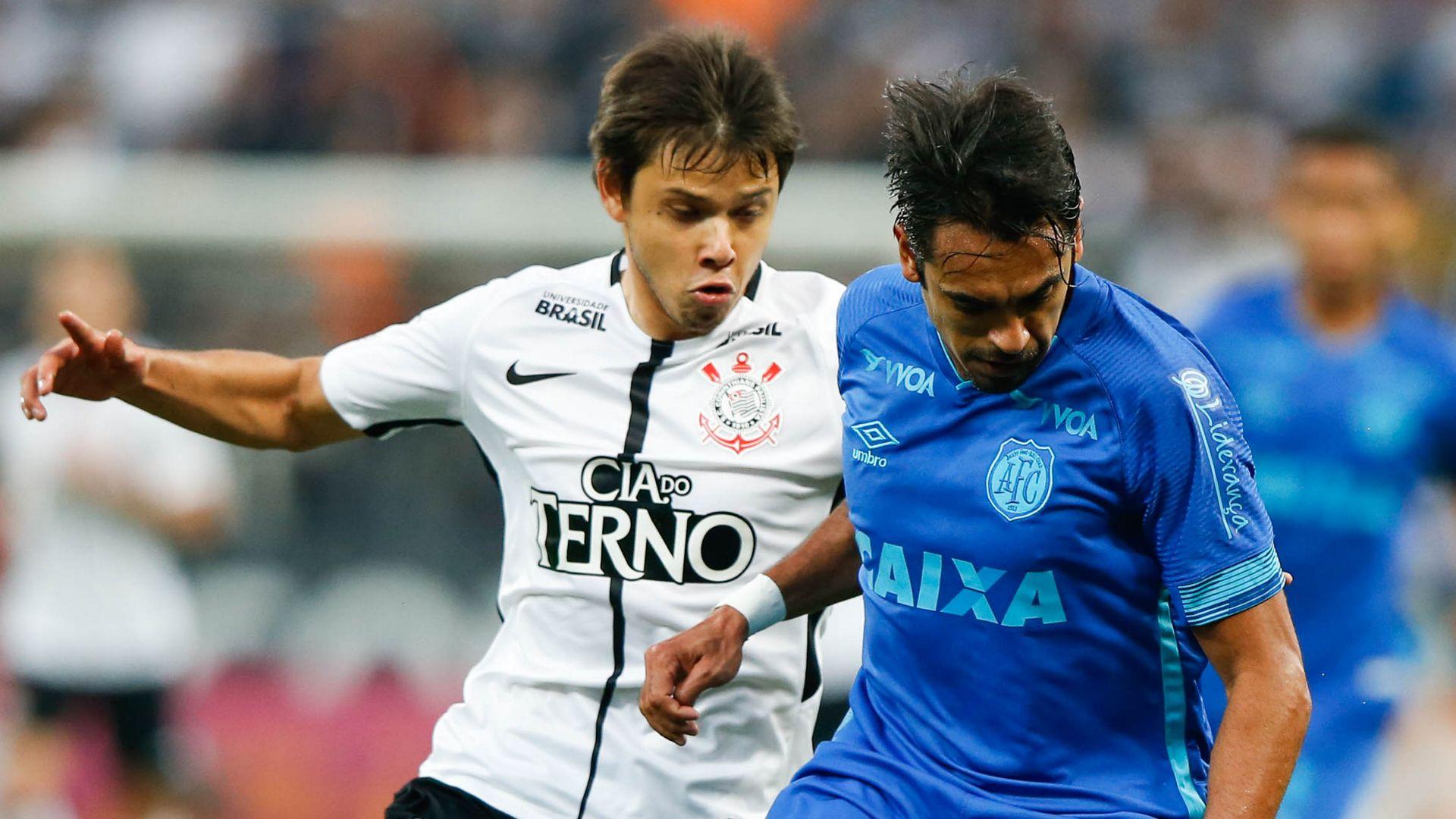 Angel Romero Junior Dutra Corinthians Avai Brasileirao Serie A 11112017