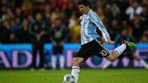 Lionel Messi Argentina Penal 2009
