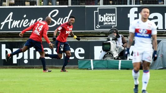 Serge Gakpe Amiens Lyon Ligue 1 10122017