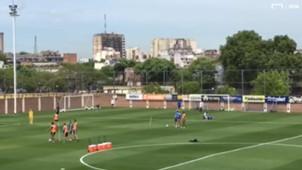 Video Boca Entrenamiento 24102017