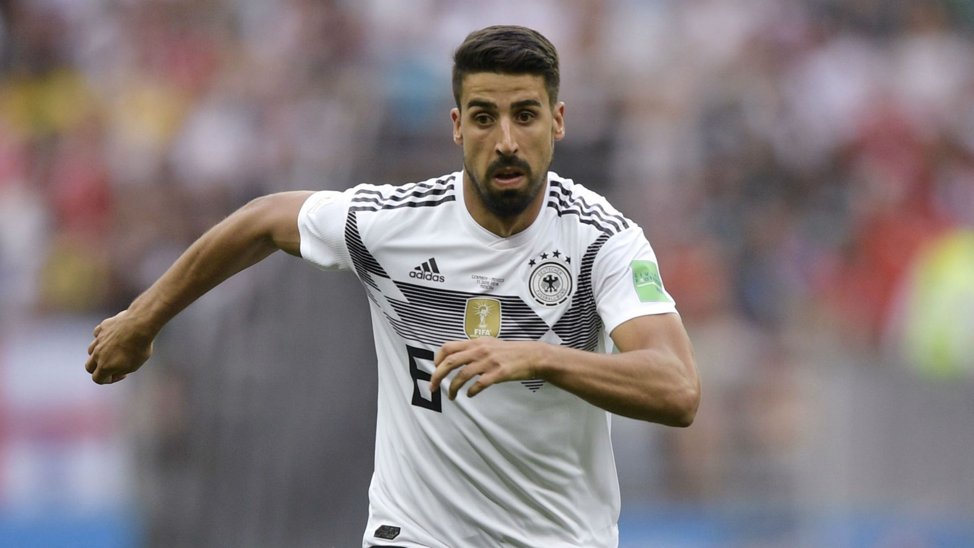 Germany ace Sami Khedira shuts down Swedish journalist's prank