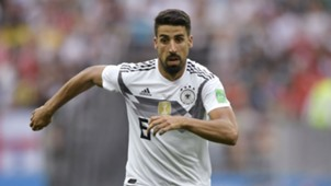 Sami Khedira Germany 2018 World Cup