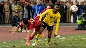 Syamer Kutty, Malaysia, 2018 AFF Suzuki Cup