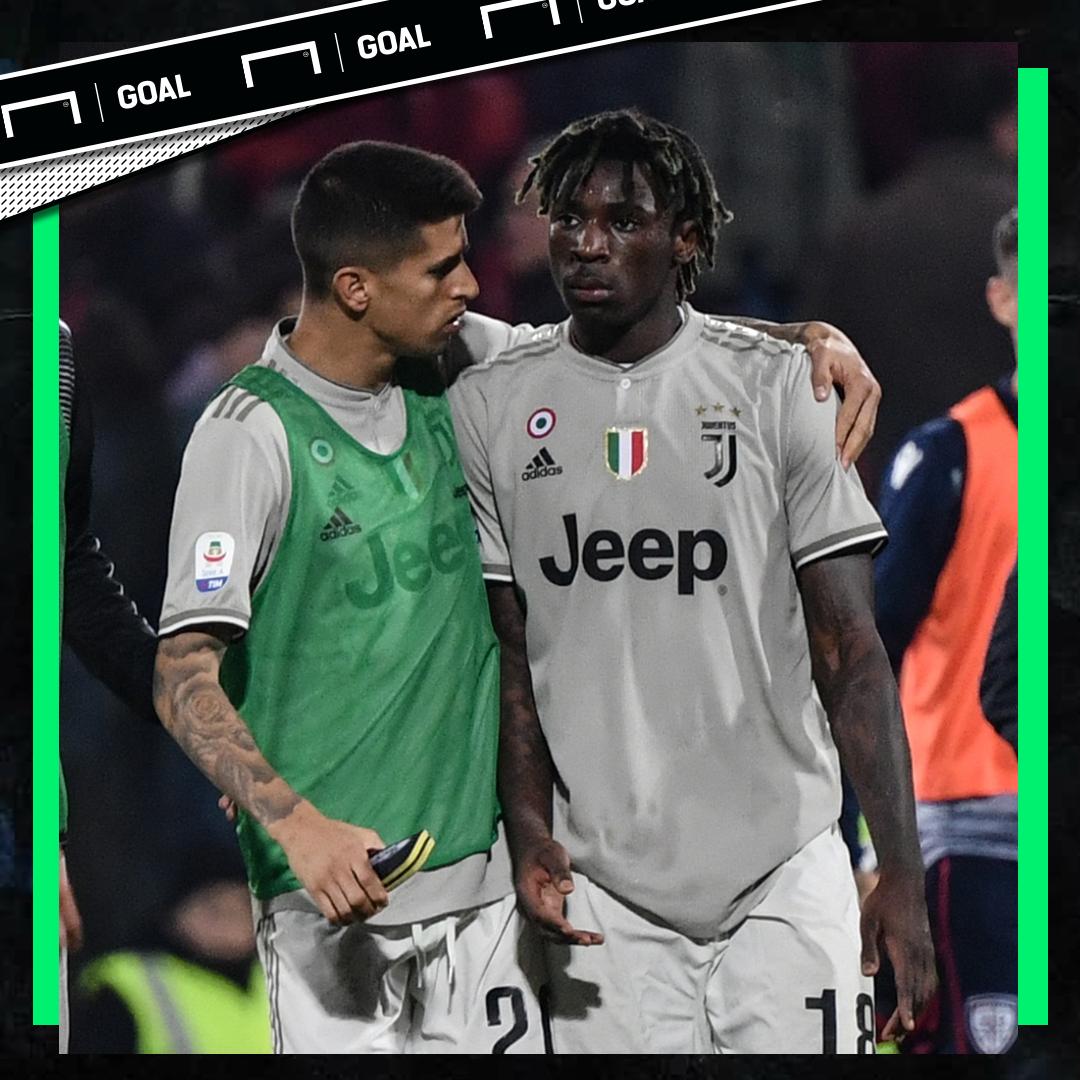 Moise Kean Cagliari Juventus PS