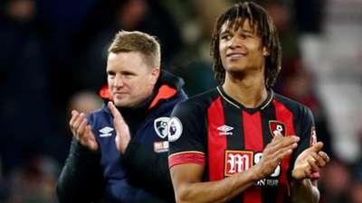 Eddie Howe Nathan Ake AFC Bournemouth 0130219