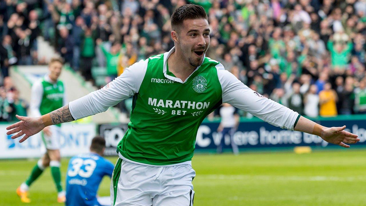 Jamie Maclaren Hibernian