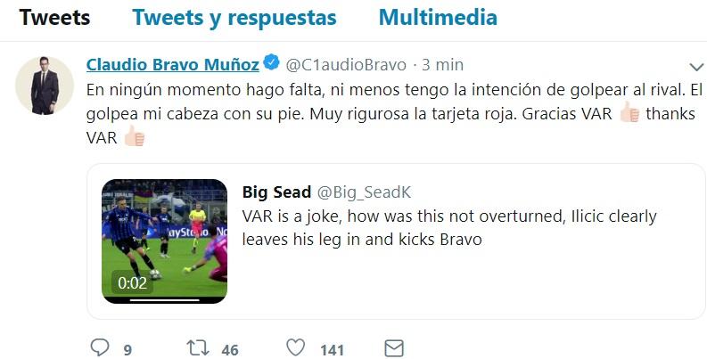 Claudio Bravo EMBED