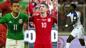 Copa Oro 2017 figuras