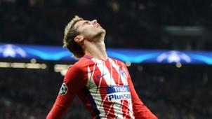 Antoine Griezmann Atlético de Madrid Roma UCL 22112017