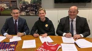 Frenkie de Jong Barcelona signing