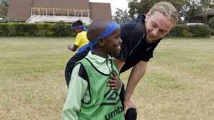 Everton visit to Kenya.