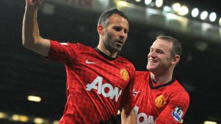 Ryan Giggs Wayne Rooney Manchester United