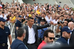 Ronaldo arriving J Medical Center