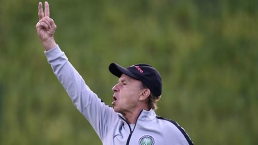 Nigeria training - Gernot Rohr