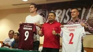 Eero Markkane & Aaron Evans - PSM Makassar