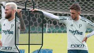 Lucas Lima e Hyoran - Palmeiras - 02/2018
