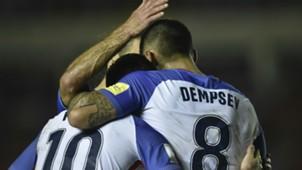 Clint Dempsey Christian Pulisic USA