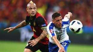 Nainggolan Giaccherini Belgium Italy Euro 2016