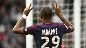 Kylian Mbappe PSG Bordeaux Ligue 1 30092017