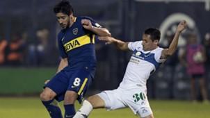 Pablo Perez Dibble Gimnasia Boca Superliga 09052018
