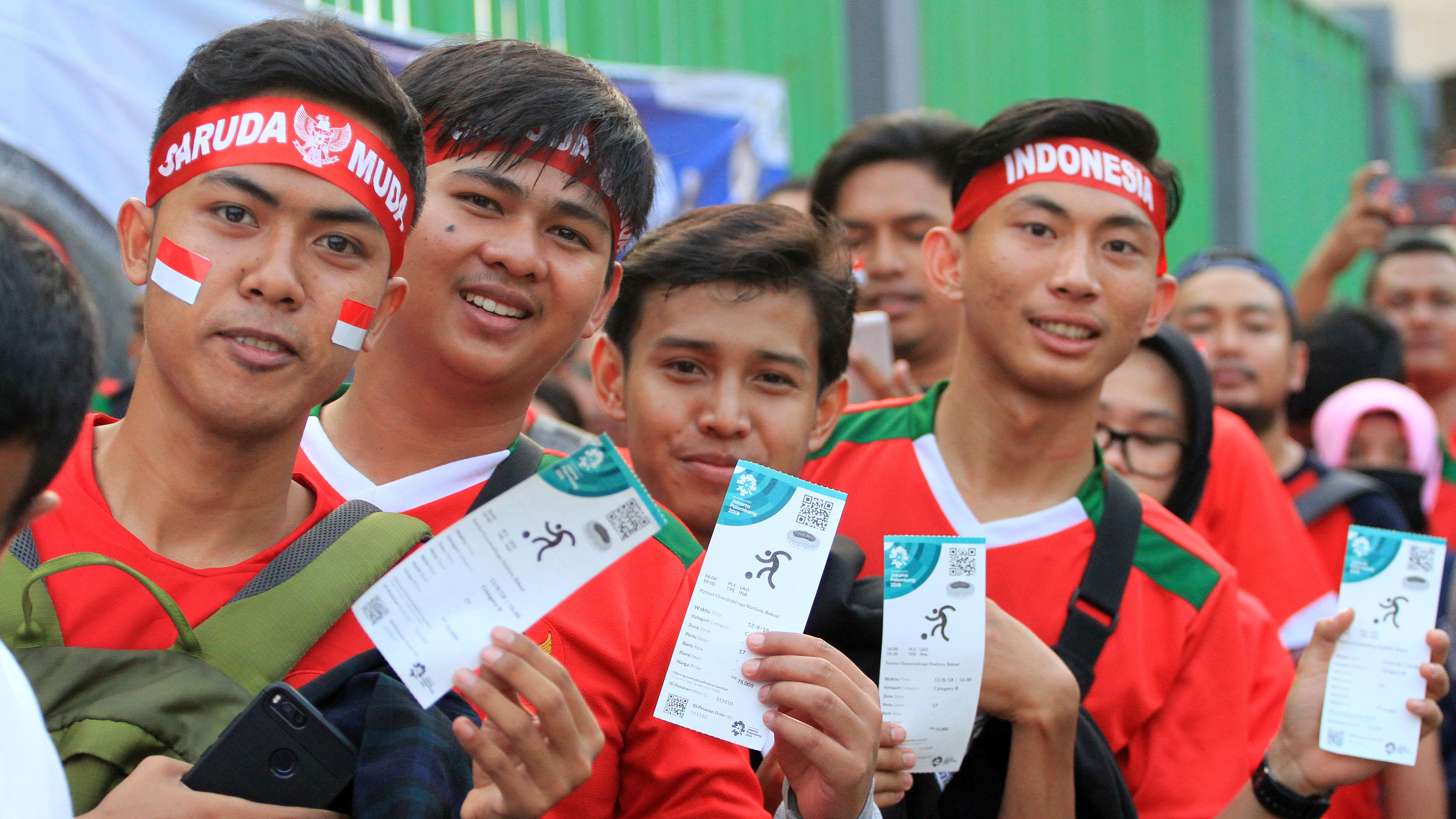 Suporter Indonesia Tiket
